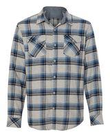 Burnside Yarn-Dyed Long Sleeve Flannel Shirt 8210