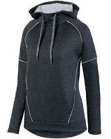 Augusta Sportswear Women's Zoe Tonal Heather Hoodie 5556