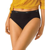 Hanes Women's Plus Size Cotton Hi-Cut Panties 5-Pk P543WB