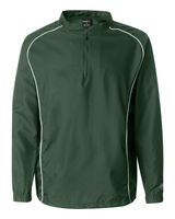 Rawlings Poly Dobby Quarter-Zip Pullover 9715