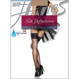 Hanes Silk Reflections Lace Top Thigh Highs 0A444