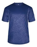 Badger Line Embossed Short Sleeve T-Shirt 4131