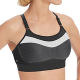 Champion The Show-Off Colorblocked Sports Wirefree Bra 1666D