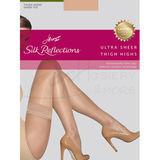 Hanes Silk Reflections Ultra Sheer Thigh Highs 0B380
