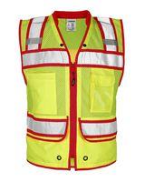 Kishigo Color Contrast High Performance Surveyors Vest S5042-5046