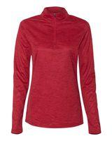 Badger Tonal Blend Women's Quarter-Zip Pullover 4173