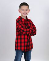 Boxercraft Youth Flannel Shirt YF51