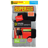 Hanes Men's Boxer Brief Super Value Pack P9