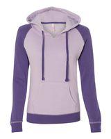 MV Sport Women's Harper Raglan Hooded Pullover Sweatshirt W17127