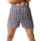 Hanes Men's Tartan Boxers with Comfort Flex Waistband 2-Pk 838VTY
