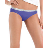 Hanes Cool Comfort Women's Cotton Sporty Bikini 6-Pack P642SC