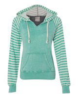 MV Sport Women's Angel Fleece Sanded Piper Hooded Sweatshirt W15106