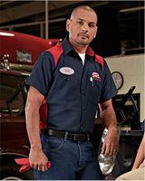 Red Kap Short Sleeve Motorsports Shirt Long Sizes SP28L