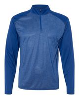 Badger Pro Heather Quarter-Zip Pullover 4394