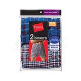 Hanes Men's Tartan Boxer 2 pair 838VTY