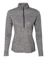 Russell Athletic Women's Striated Quarter-Zip Pullover QZ7EAX