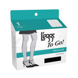 Leggs To Go Regular Pantyhose 15205