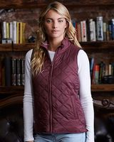 Weatherproof Women's Vintage Diamond Quilted Vest W207359
