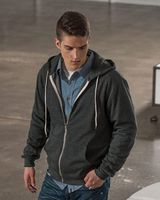 MV Sport Retro Heather Zip Hood 2349