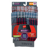 Hanes Boys Ultimate Yarn Dye Boxer 3-Pk BU835C