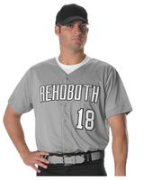 Alleson Athletic Full Button Lightweight Baseball Jersey A00017