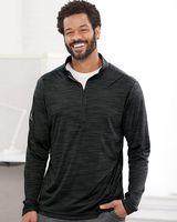 Adidas Lightweight Melange Quarter-Zip Pullover A475