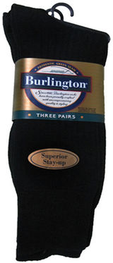 Burlington Mens Crew Sock 3 Pack BB110