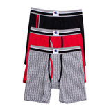 Champion Men's Everyday Comfort Boxer Briefs 3-Pack CABBA2