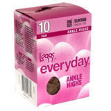 L'eggs Everyday Ankle High 10-Pair 39200