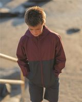 Independent Trading Co. Youth Lightweight Windbreaker Zip Jacket EXP24YWZ