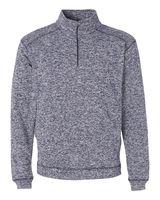 J. America Cosmic Fleece Quarter-Zip Pullover Sweatshirt 8614