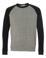 Alternative Eco-Fleece Champ Colorblocked Crewneck Sweatshirt 32022