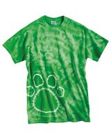 Dyenomite Pawprint Short Sleeve T-Shirt 200PR