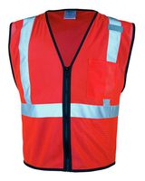ML Kishigo Class 2 Economy Vest with Zipper Front 1519-1520