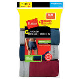 Hanes Men's Tagless Boxer Brief with Comfort Flex Waistband 6-Pack 7349Z6