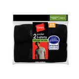 Hanes Mens ComfortSoft Dyed Pocket T 2-Pk 2176BV