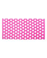 Carmel Towel Company Polka Dot Velour Beach Towel C3060P