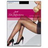Hanes Silk Reflections Ultra Sheer Control Top Pantyhose Sheer Toe 0B260