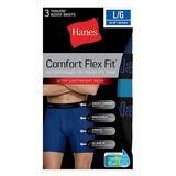 Hanes Men's Comfort Flex Fit Breathable Mesh Boxer Briefs 3-Pack CFFBP3