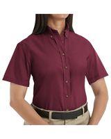 Red Kap Women's Poplin Dress Shirt Extended Sizes SP81EXT