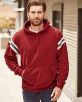 J. America Vintage Athletic Hooded Sweatshirt 8847
