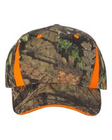 Outdoor Cap Camo Cap With Hi-Vis Trim CBI305