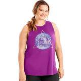 Just My Size Active Graphic Muscle Tank Fabulous OJ361
