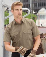 Red Kap Ripstop Short Sleeve Work Shirt SY60