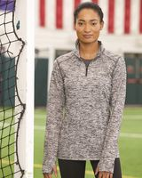 Badger Women's Blend Quarter-Zip Pullover 4193
