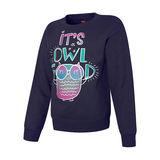 Hanes ComfortSoft EcoSmart Girls Graphics Crewneck Sweatshirt OK266