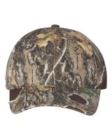 Outdoor Cap Frayed Camo Cap BSH600