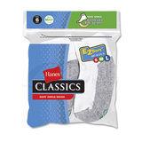 Hanes Classics Boys Ankle EZ Sort Socks 6-Pk 362/6