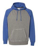 J. America Vintage Heather Hooded Sweatshirt 8885