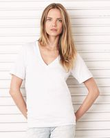 Bella + Canvas Unisex Deep V-Neck Jersey Tee 3105